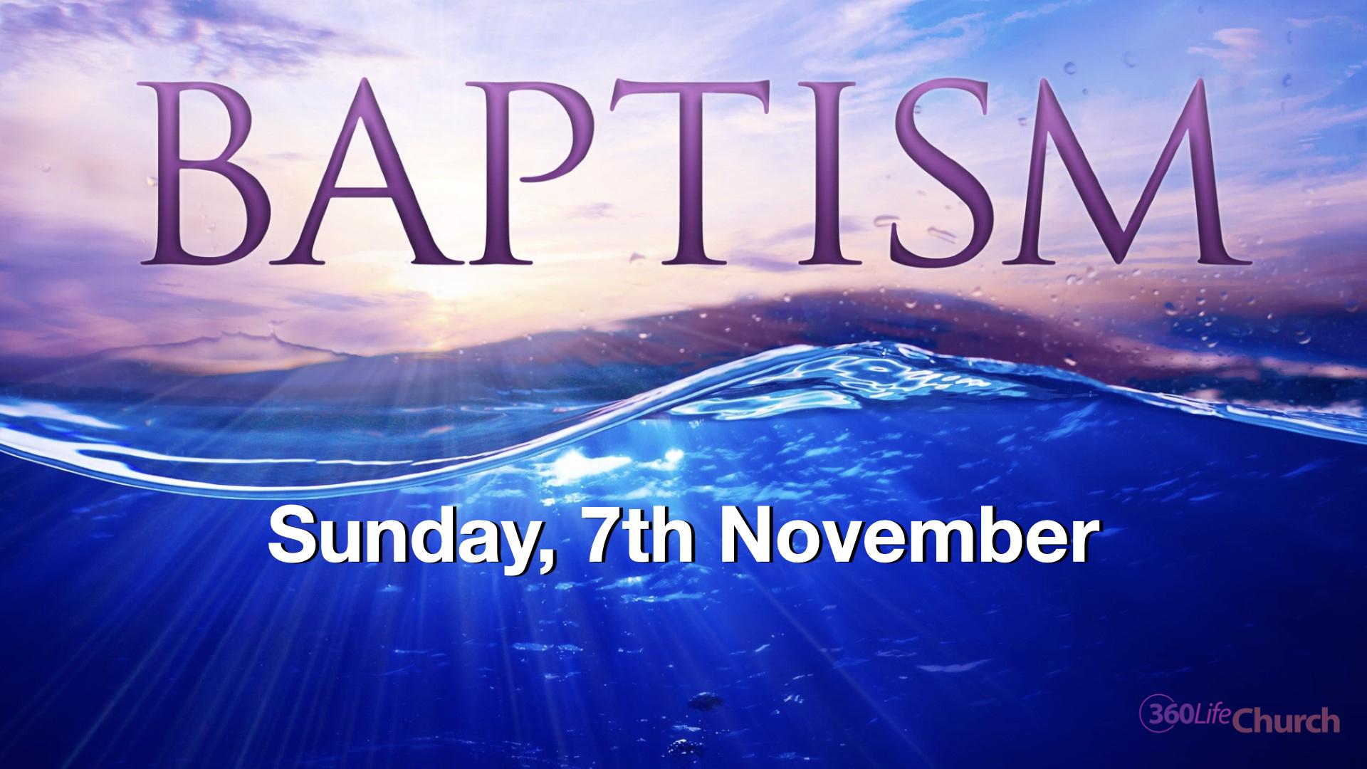 Baptismal service